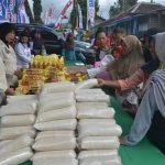 Pasar Murah Penutupan TMMD Ke-104 Di Magetan Ludes Diserbu Warga